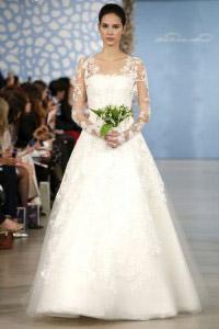 Колекція весільних суконь від Oscar de la Renta весна 2014 bc96c21200274