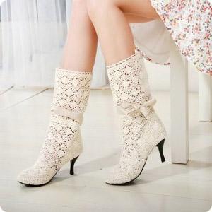 З чим носити чоботи літні  0df5485f70119